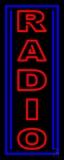 Vertical Radio LED Neon Sign