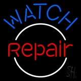 Blue Watch Repair LED Neon Sign