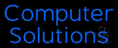 Computer Solutions LED Neon Sign