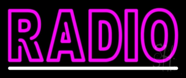Radio LED Neon Sign