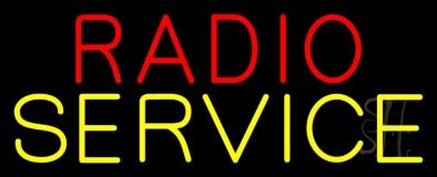 Radio Service LED Neon Sign