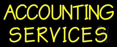 Accounting Service 3 LED Neon Sign