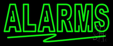 Alarms LED Neon Sign