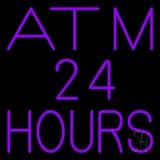 Atm 24 Hrs LED Neon Sign