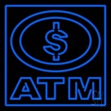 Atm With Dollar Symbol LED Neon Sign