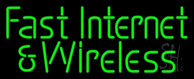 Fast Internet And Wireless LED Neon Sign