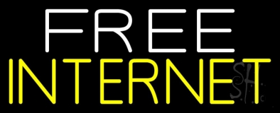 Free Internet LED Neon Sign