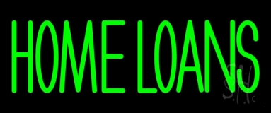 Green Home Loans LED Neon Sign