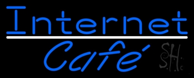 Internet Cafe LED Neon Sign