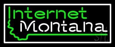 Internet Montana LED Neon Sign
