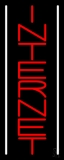 Vertical Internet With White Lines LED Neon Sign