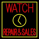 Watch Repair And Sales LED Neon Sign