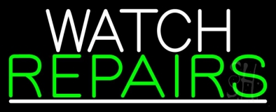 Watch Repairs LED Neon Sign