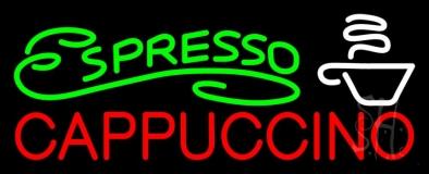 Espresso Cappuccino Neon Sign
