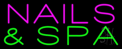 Nails And Spa Neon Sign