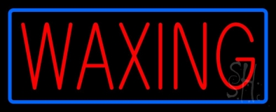 Waxing Neon Sign