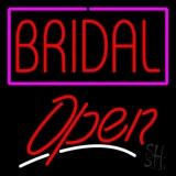 Bridal Script2 Open LED Neon Sign
