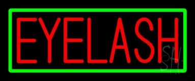 Eyelash LED Neon Sign