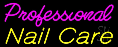 Professional Nail Care LED Neon Sign