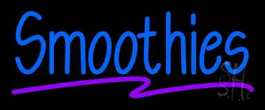 Blue Smoothies LED Neon Sign
