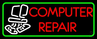 Computer Repair Border LED Neon Sign