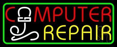 Computer Repair Withmouse LED Neon Sign