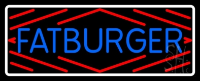 Fatburger LED Neon Sign
