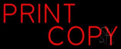Print Copy LED Neon Sign