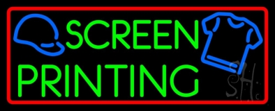 Screen Printing LED Neon Sign