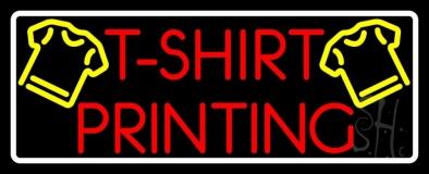 Tshirt Printing LED Neon Sign