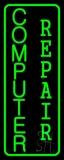 Vertical Computer Repair LED Neon Sign
