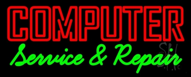 Computer Service And Repair LED Neon Sign