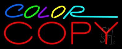 Multi Colored Color Copy LED Neon Sign