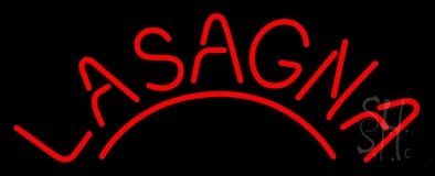 Red Lasagna LED Neon Sign