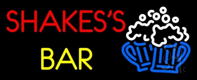 Shakes Bar LED Neon Sign