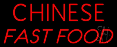 Chinese Fast Food LED Neon Sign