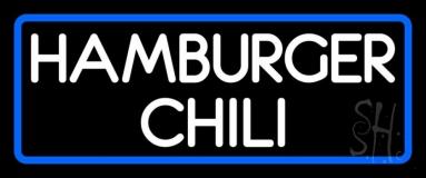 Hamburger Chili LED Neon Sign