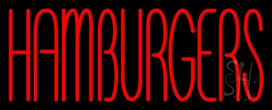 Humburgers 1 LED Neon Sign