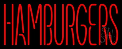 Humburgers LED Neon Sign