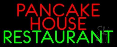 Red Pancake House Restaurant LED Neon Sign