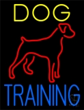 Dog Training Green Border 1 LED Neon Sign