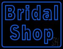Double Stroke Bridal Shop LED Neon Sign
