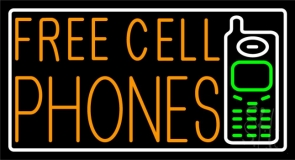 Free Cell Phones With Logo LED Neon Sign