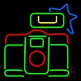 Logo Camera LED Neon Sign