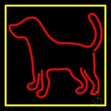 Logo Dog 2 LED Neon Sign