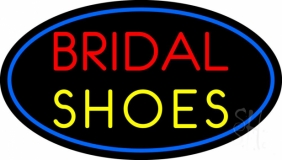 Oval Bridal Shoes LED Neon Sign