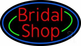 Oval Bridal Shop LED Neon Sign