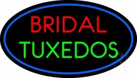 Oval Bridal Tuxedos LED Neon Sign