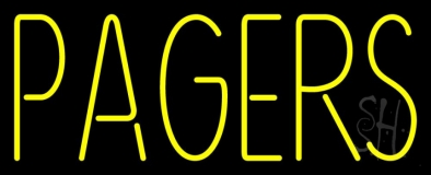 Pagers LED Neon Sign