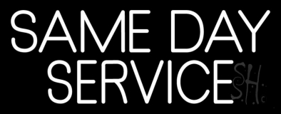 Same Day Service 1 LED Neon Sign